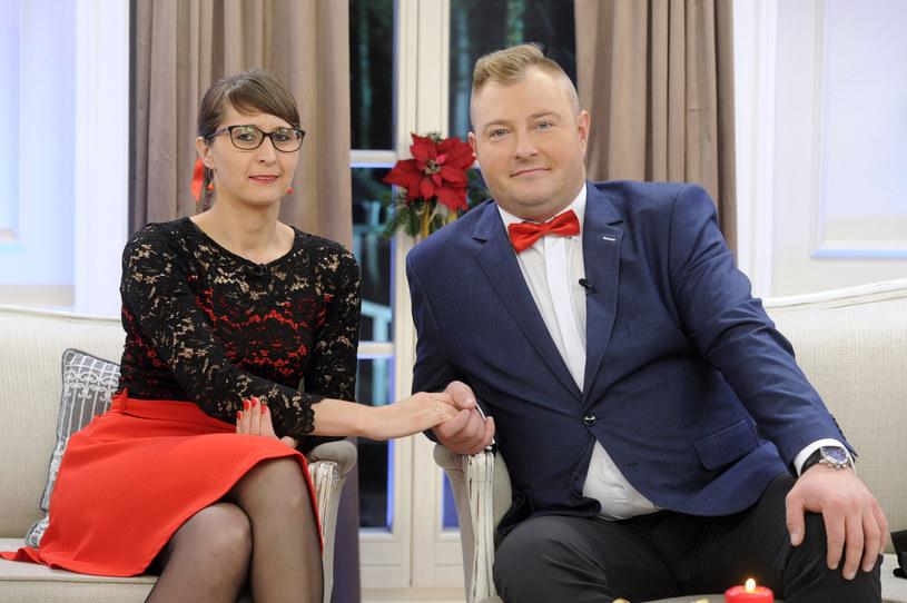 Agata Rusak i Łukasz Sędrowski /Gałązka /AKPA