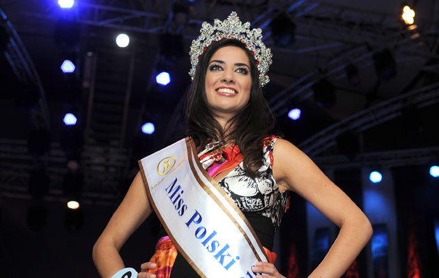 Agata Szewioła, Miss Polski 2010, fot. Piotr Gilko  /Agencja FORUM