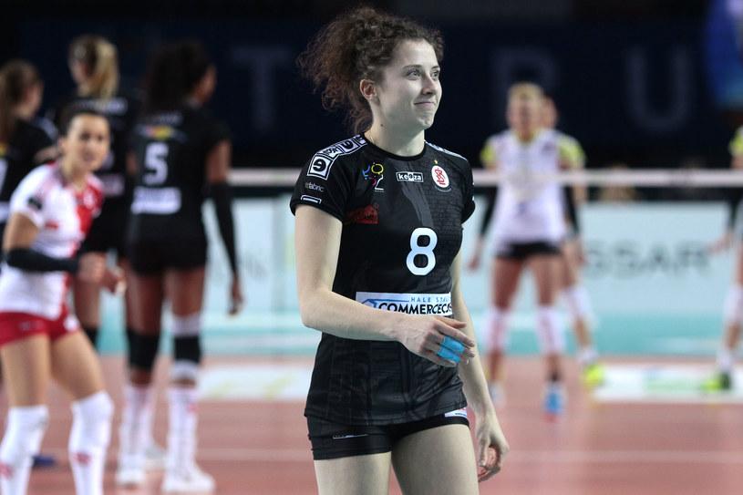 Agata Wawrzyńczyk z ŁKS-u /Newspix