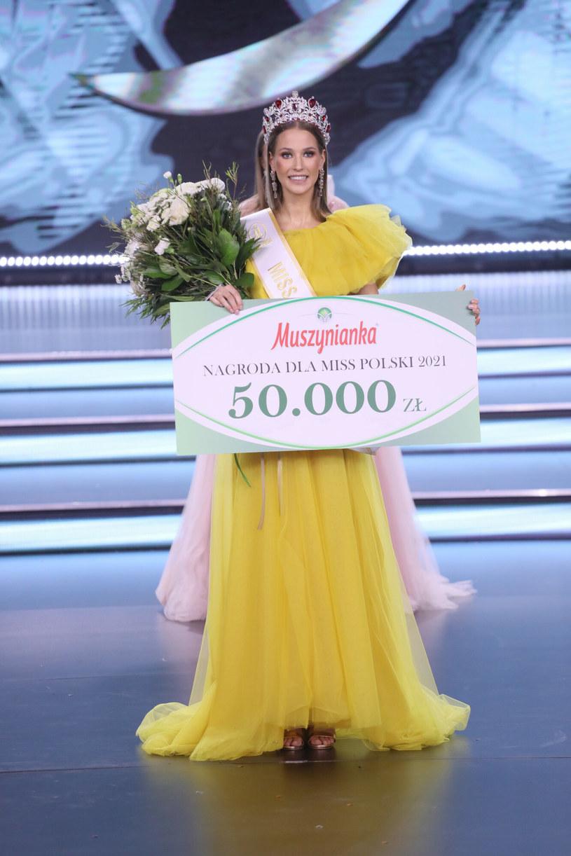 Agata Wdowiak została Miss Polski 2021 /East News