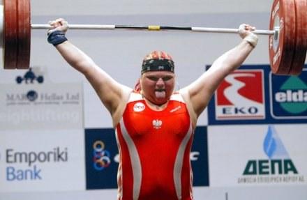 Agata Wróbel chce wrócić do sportu. /AFP