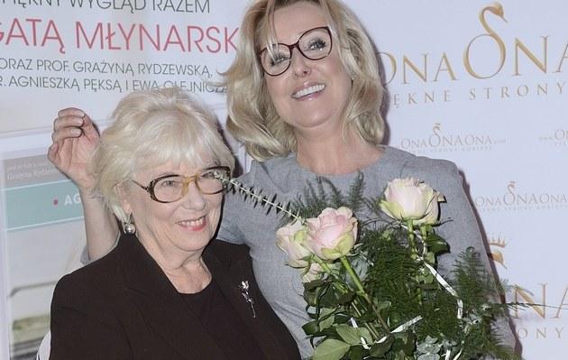 Agata z mamą /- /MWMedia