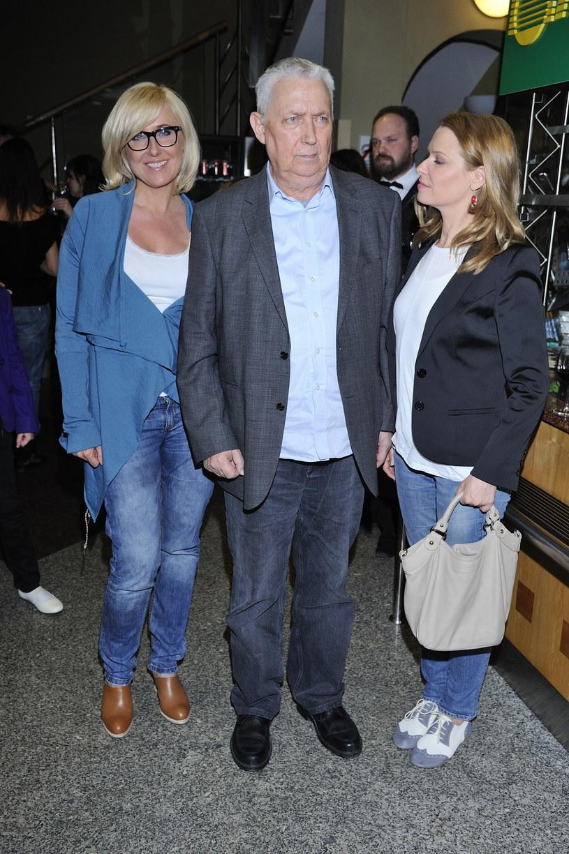 Agata z ojcem i siostrą /- /MWMedia