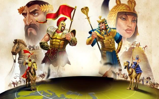 Age of Empires Online - motyw graficzny /Informacja prasowa