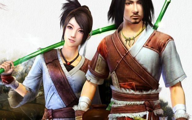 Age of Wushu - motyw graficzny /