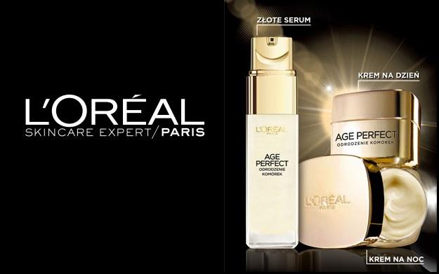 Age Perfect Odrodzenie Komórek od L'Oréal Pari /materiały promocyjne