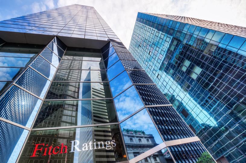 Agencja Fitch obniżyła prognozę dynamiki PKB Polski. Nz. siedziba agencji w Nowym Jorku /123RF/PICSEL