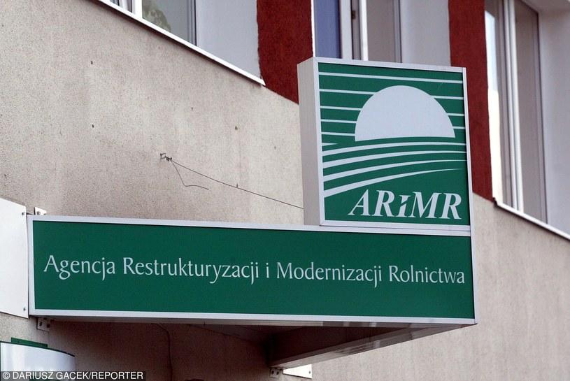 Agencja Restrukturyzacji i Modernizacji Rolnictwa /Dariusz Gacek /Reporter