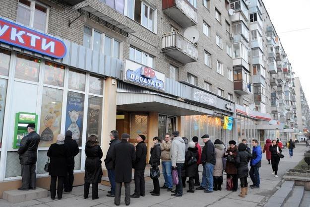 Agencja Standard & Poor's obniżyła po raz kolejny rating Ukrainy do śmieciowego poziomu CCC /AFP