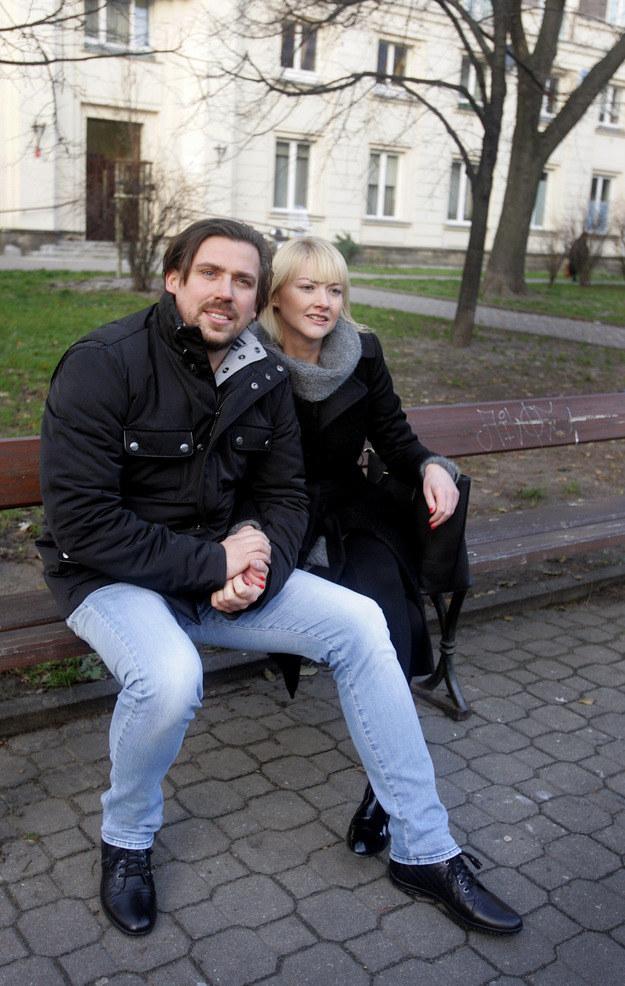 Agent Tomek z żoną /Agencja FORUM