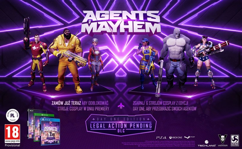 Agents of Mayhem /materiały prasowe