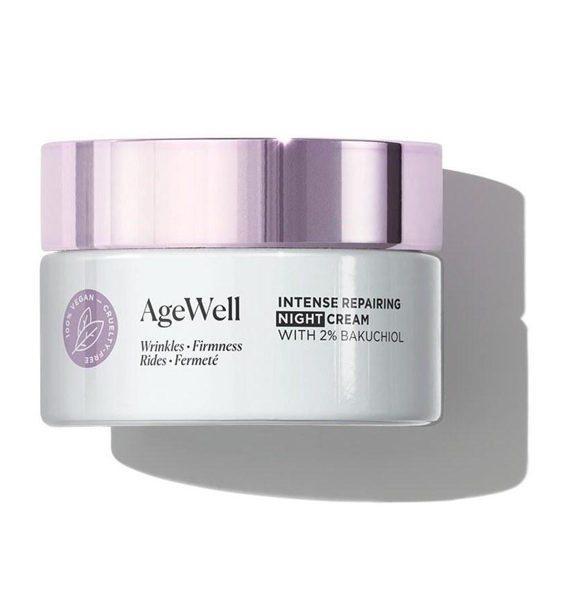 AgeWell Intensywnie regenerujący krem na noc z 2%bakuchiolu /INTERIA.PL/materiały prasowe
