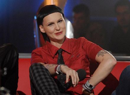 "Agnieszka Chylińska, jedna z jurorek ""MTV Rockuje"" /poboczem.pl"