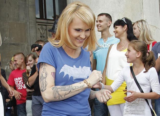 Agnieszka Chylińska jest w ciąży /AKPA