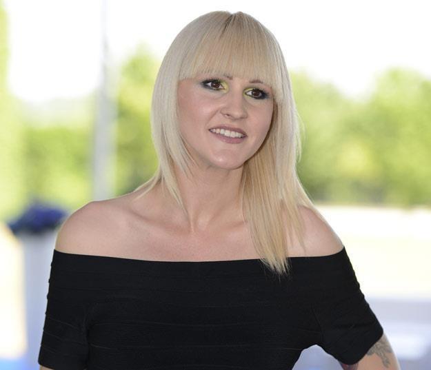 Agnieszka Chylińska na prezentacji ramówki TVN-u (fot. Jarosław Antoniak) /MWMedia