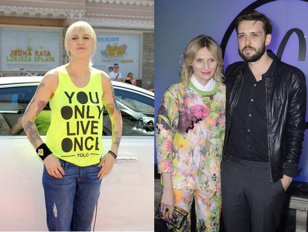Agnieszka Chylińska oraz Reni Jusis i Tomek Makowiecki postawili na tradycyjne imiona /MWMedia