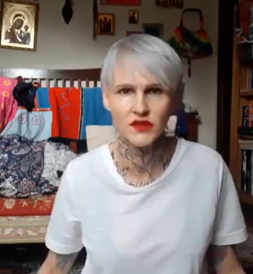 Agnieszka Chylińska podczas rozmowy z fanami na Instagramie /instagram/@agnieszka.chylinska  /Instagram