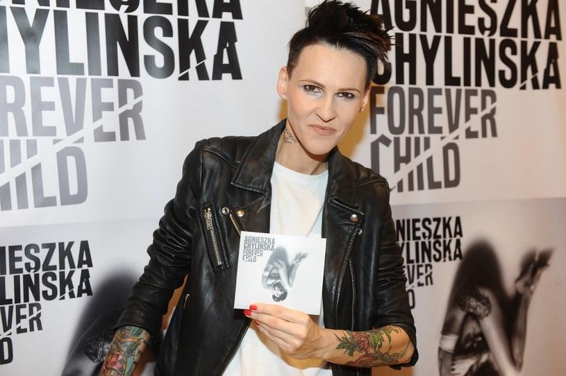 """Agnieszka Chylińska promuje płytę """"Forever child"""" /VIPHOTO /East News"""