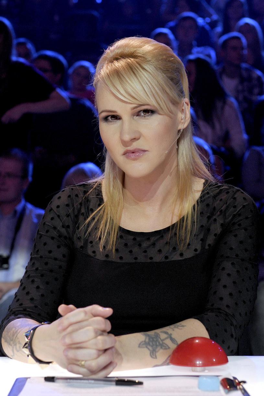"""Agnieszka Chylińska w """"Mam talent"""" w 2012 r. /AKPA"""