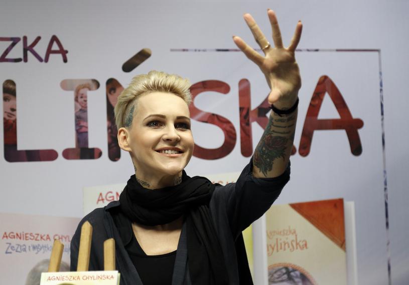 Agnieszka Chylińska /Jacek Łabędzki/REPORTER /Reporter