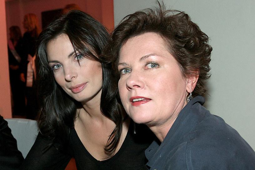 Agnieszka Dygant i Agnieszka Kotulanka w 2006 roku /Niemiec /AKPA
