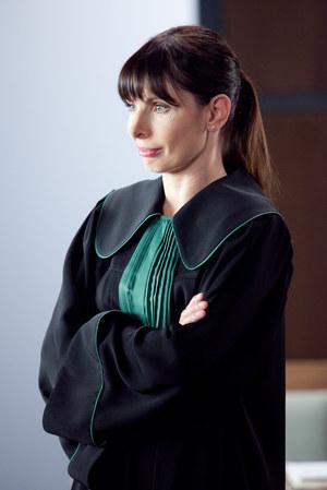 Agnieszka Dygant jako Agata Przybysz /Agnieszka K. Jurek /TVN