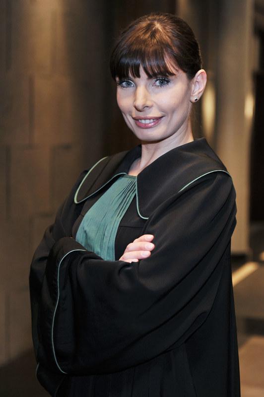 Agnieszka Dygant jako Agata Przybysz /Niemie /AKPA
