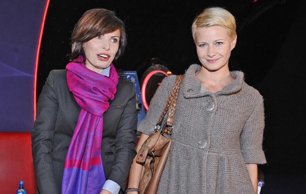 Agnieszka Dygant, Małgorzata Kożuchowska, fot.Andras Szilagyi  /MWMedia