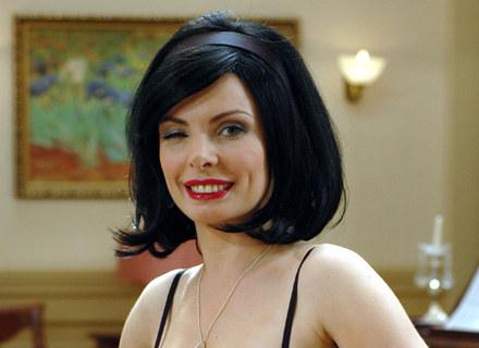 Agnieszka Dygant podbiła serca widzów rolą Niani Frani, teraz ma szansę na trzecią Telekamerę /MWMedia