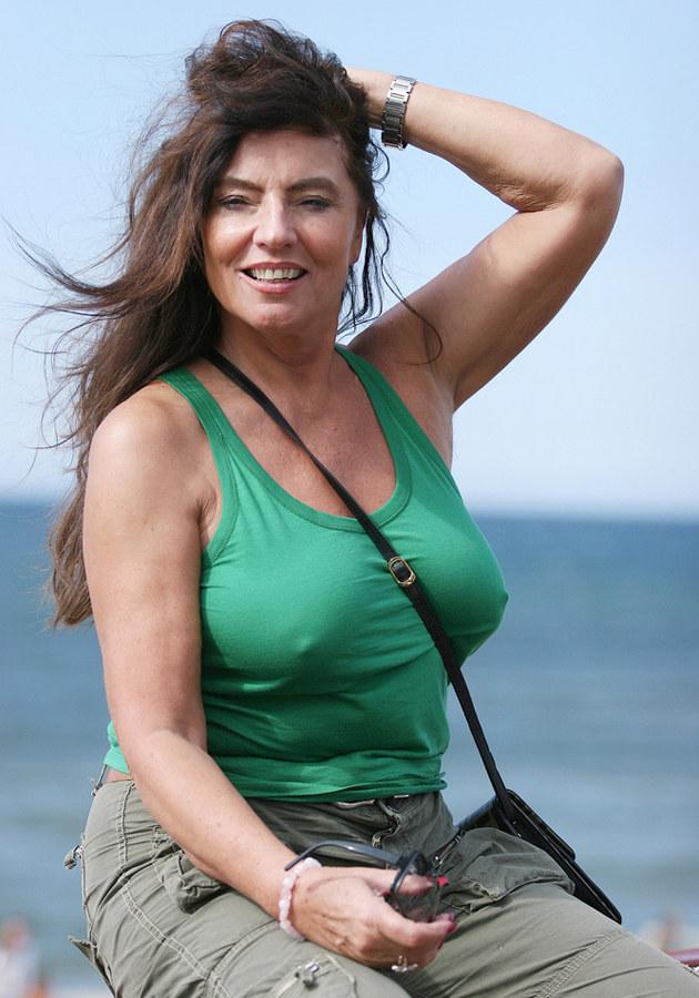 Agnieszka Fitkau-Perepeczko - 2005 r. /Warda /AKPA