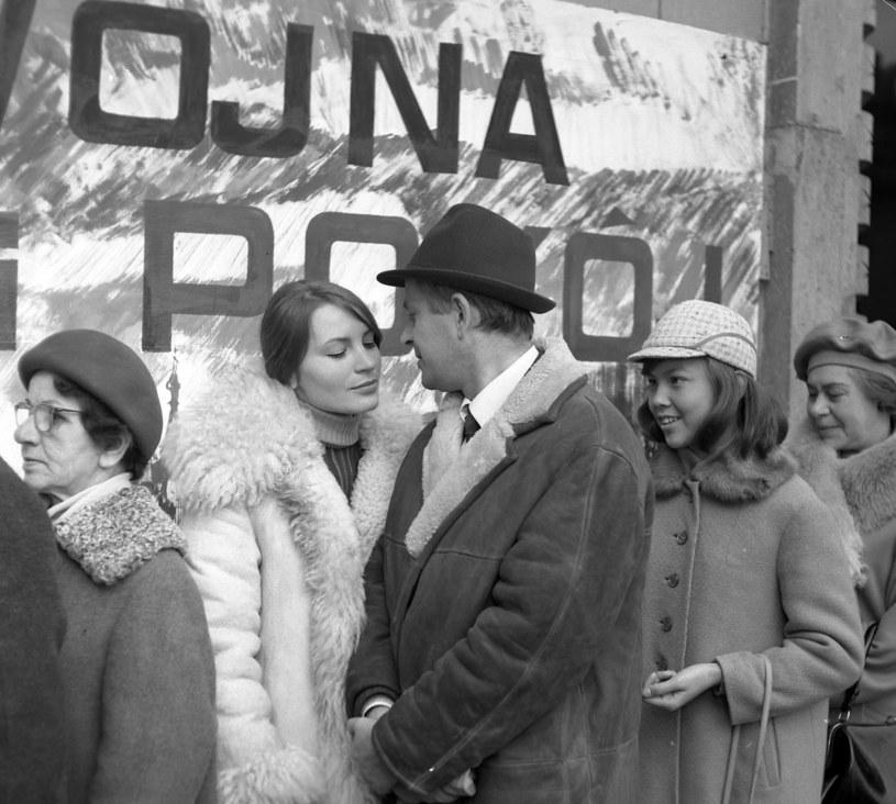 """Agnieszka Fitkau-Perepeczko w kinowym debiucie w filmie """"Tabliczka marzenia"""" (1968) /East News/POLFILM"""