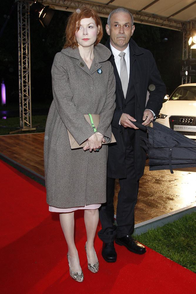 Agnieszka Glińska z mężem Krzysztofem Stelmaszykiem / Engelbrecht /AKPA