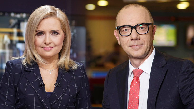 Agnieszka Gozdyra i Grzegorz Jankowski /Polsat News /materiały prasowe