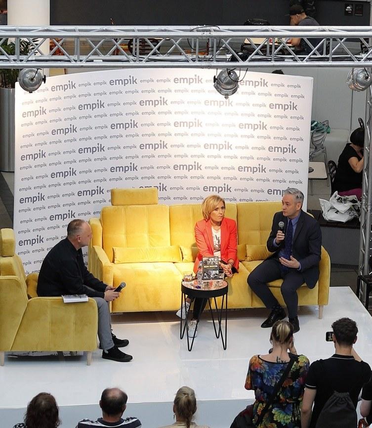 Agnieszka Gozdyra i Robert Biedroń /Jacek Łabędzki /Reporter