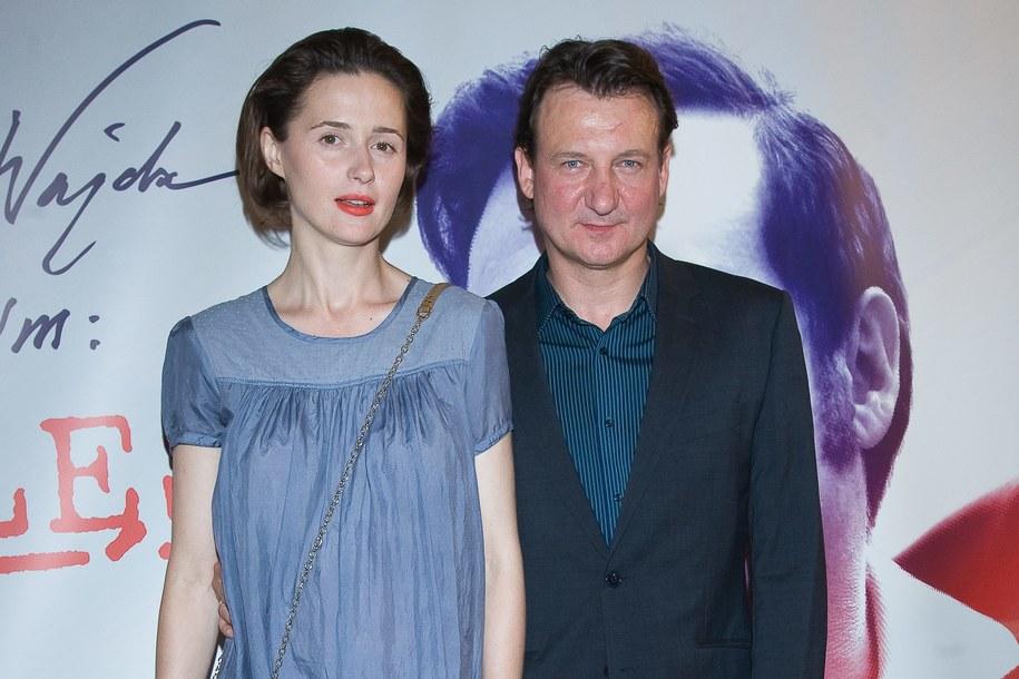 Agnieszka Grochowska i Robert Więckiewicz /Stach Leszczyński /PAP