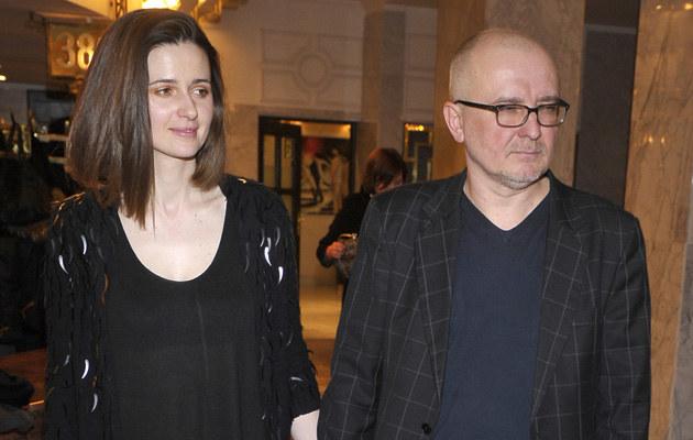 Agnieszka Grochowska z mężem /Kurnikowski /AKPA