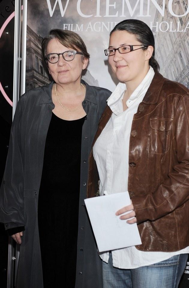 Agnieszka Holland i Kasia Adamik /Andras Szilagyi /MWMedia