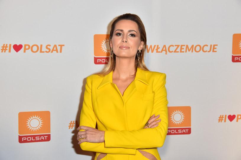 Agnieszka Hyży /Artur Zawadzki/REPORTER /East News