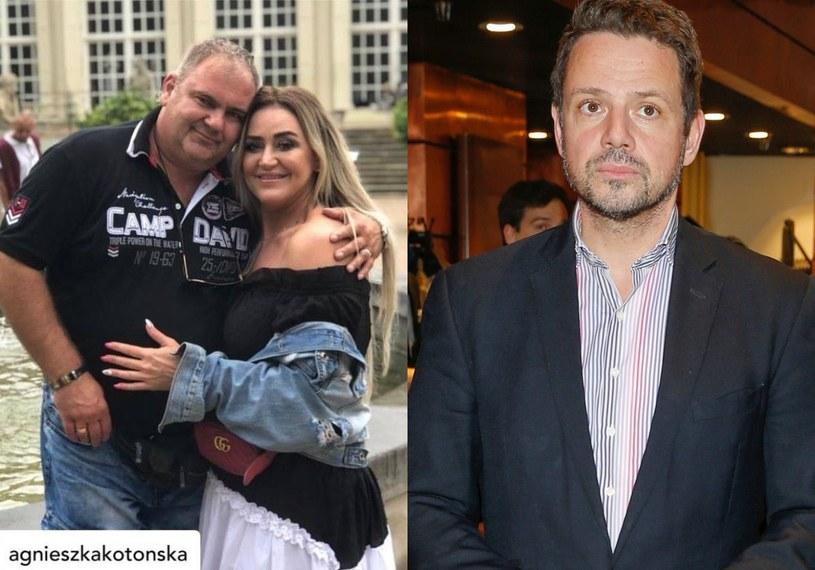 Agnieszka i Artur Kotońscy (fot. Instagram)/ Rafał Trzaskowski (fot. AKPA) /Podlewski /AKPA
