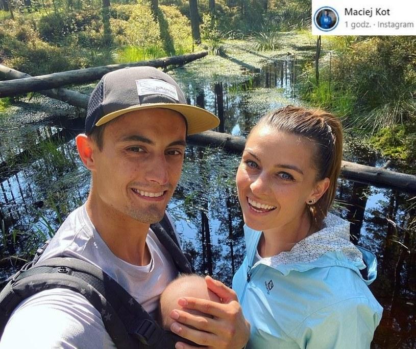 Agnieszka i Maciej Kot/ Źródło: Instagram /