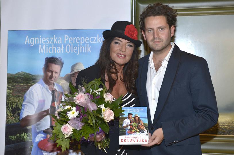 Agnieszka i Michał Olejnik /- /AKPA