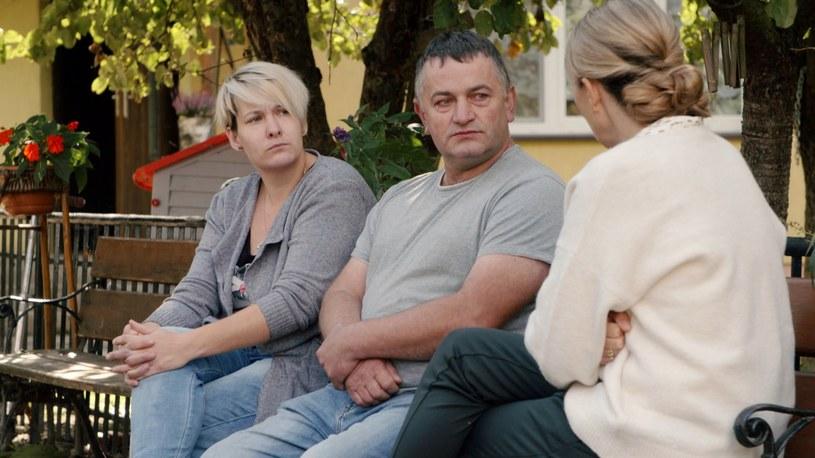 Agnieszka i Mirosław Trusiakowie ze wsi Granna na Podlasiu /Polsat