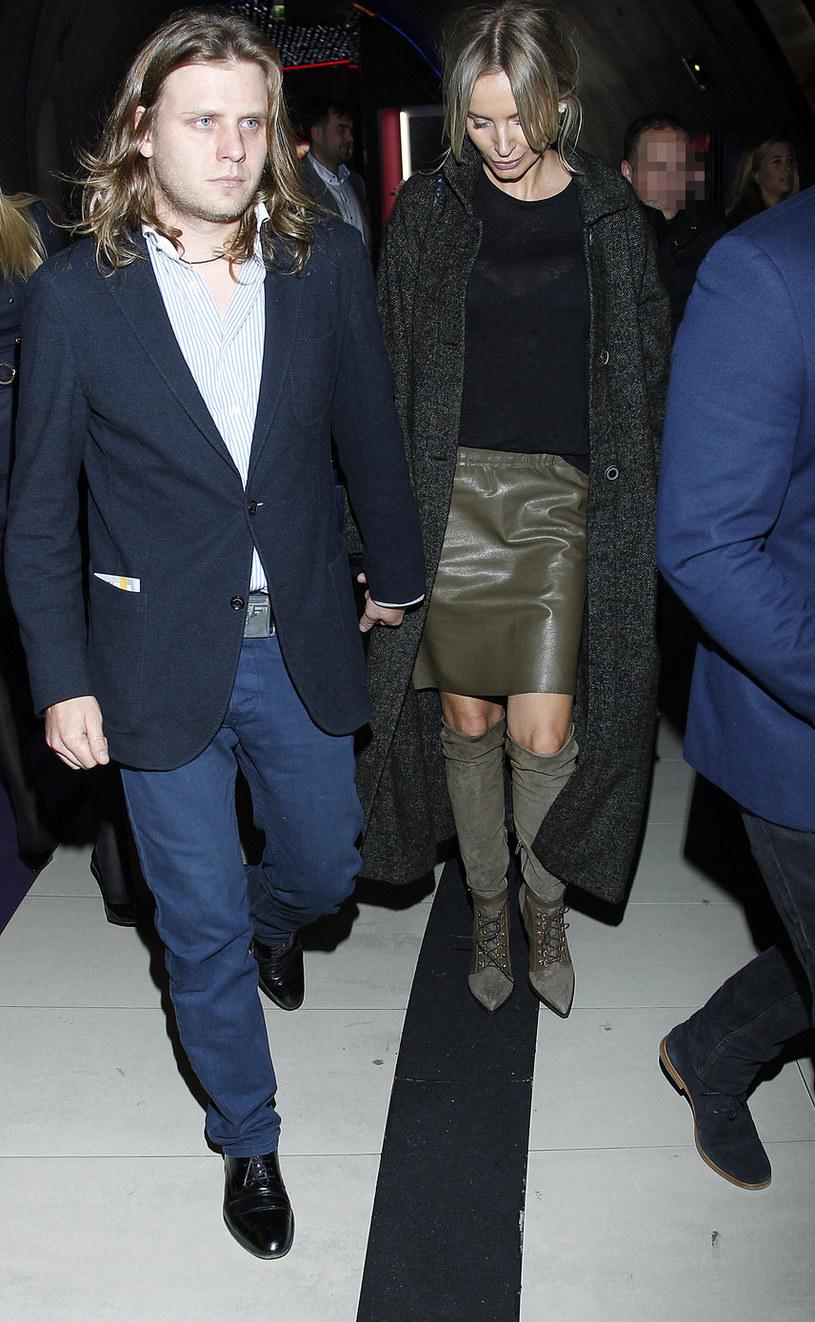 Agnieszka i Piotr to bardzo popularna para w polskim show-biznesie /Krzemiński Jordan /AKPA