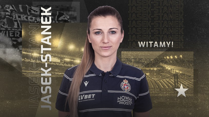Agnieszka Jasek-Stanek /Wisła Kraków /materiał zewnętrzny
