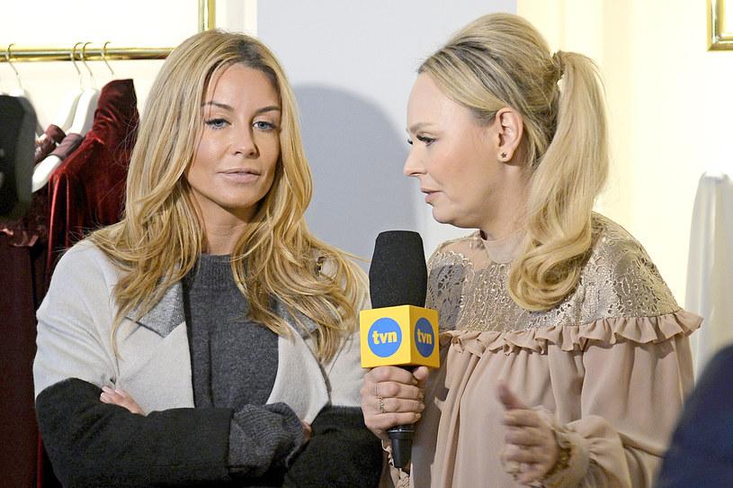 Agnieszka Jastrzębska i Małgorzata Rozenek-Majdan /Gałązka /AKPA
