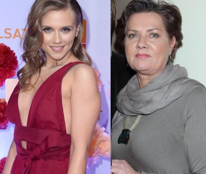 Agnieszka Kaczorowska i Agnieszka Kotulanka /MWMedia