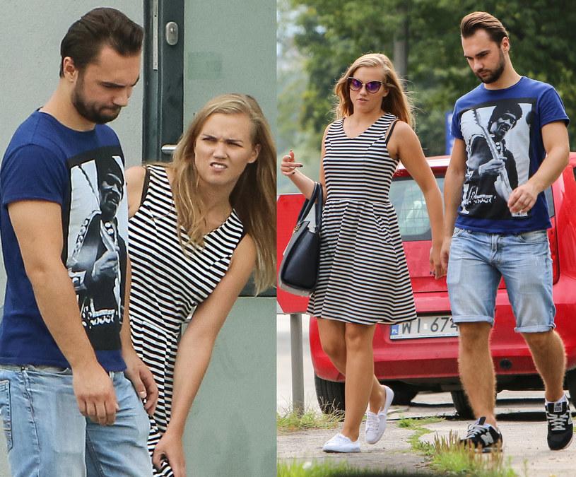 Agnieszka Kaczorowska i Maciej Zadykowicz /Newspix