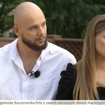 Agnieszka Kaczorowska w połogu wybrała się do śniadaniówki. Opowiedziała o porodzie