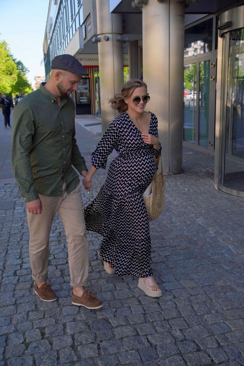 Agnieszka Kaczorowska z mężem /Tricolors /East News