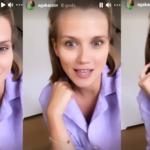 Agnieszka Kaczorowska znowu w akcji! Poszło o dres i piżamę